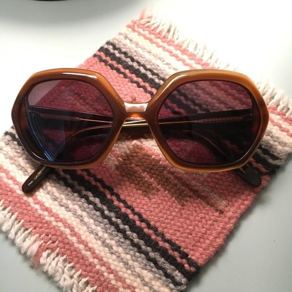 63aae7231e1a1 bebe Accessories - Vintage Bebe Hexagon Sunglasses